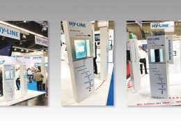 HY-LINE Messestand Embedded World 2019