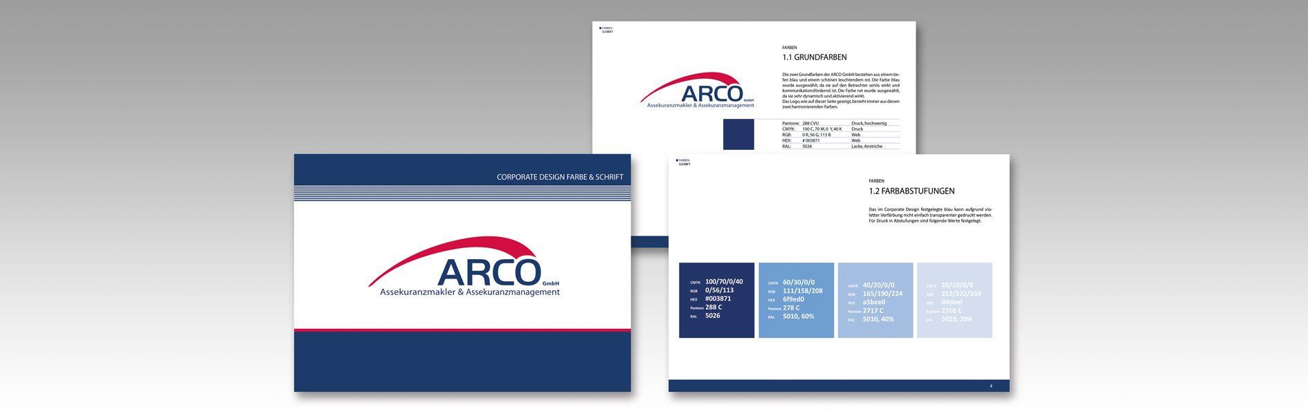 Hier ist das CDManual von ARCO zu sehen.