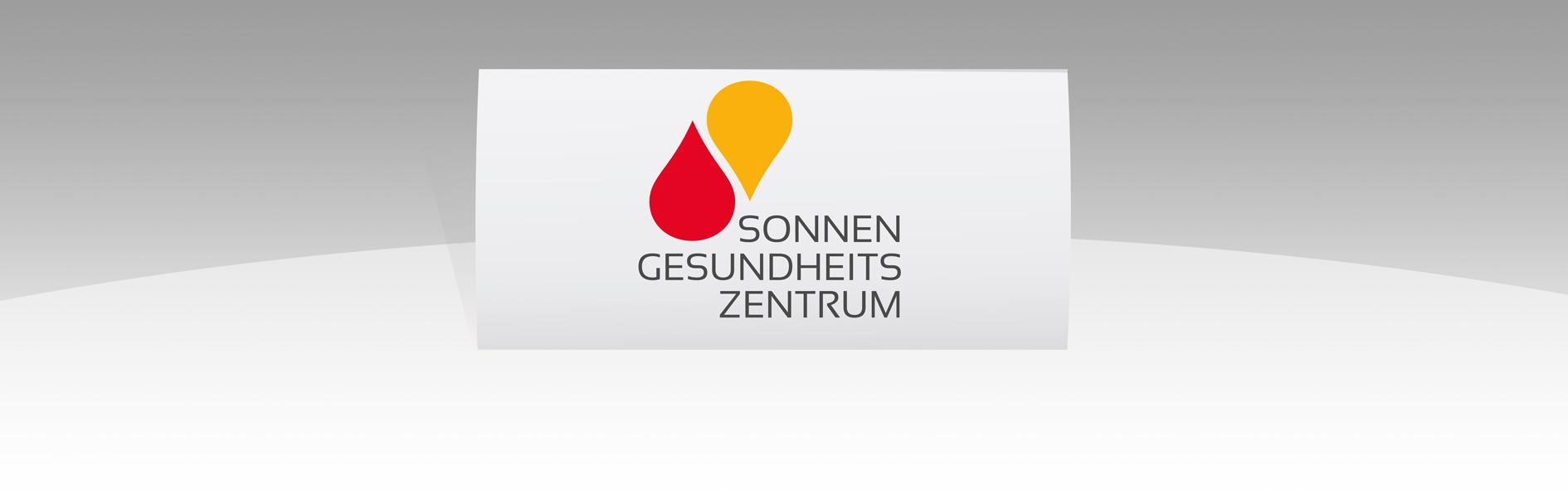 Hier ist das Logo des Sonnengesundheitszentrums abgebildet.
