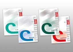 Hier sind die Produktbroschüren von Caloric abgebildet.