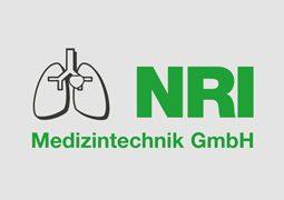 Hier ist das Logo von NRI Medizintechnik GmbH abgebildet.