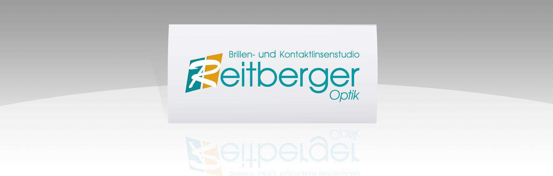Hier ist das Reitberger Optik Logo abgebildet.