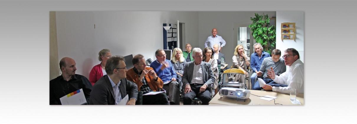 Hier ist ein Foto des 2. Unternehmerabends bei artconcept Werbeagentur abgebildet..