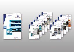 Hier sind die Produktbroschüren von Protechna abgebildet.