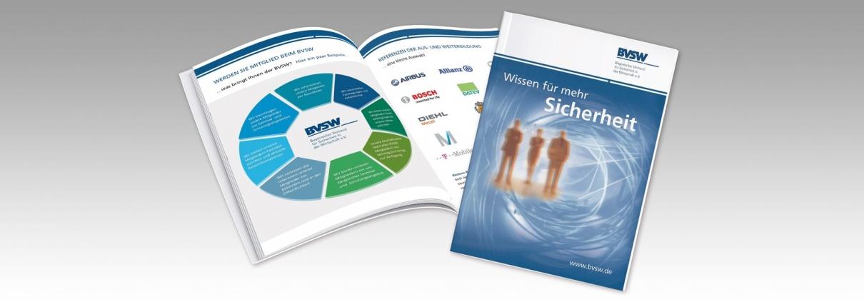 Hier ist die Broschüre von BVSW abgebildet.
