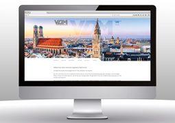 Hier ist der Internetauftritt von VDM zu sehen.