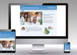 Zahnarztpraxis Dr. Bickel Internetauftritt