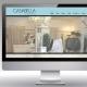 Hier ist der Internetauftritt von Casabella Mode abgebildet.