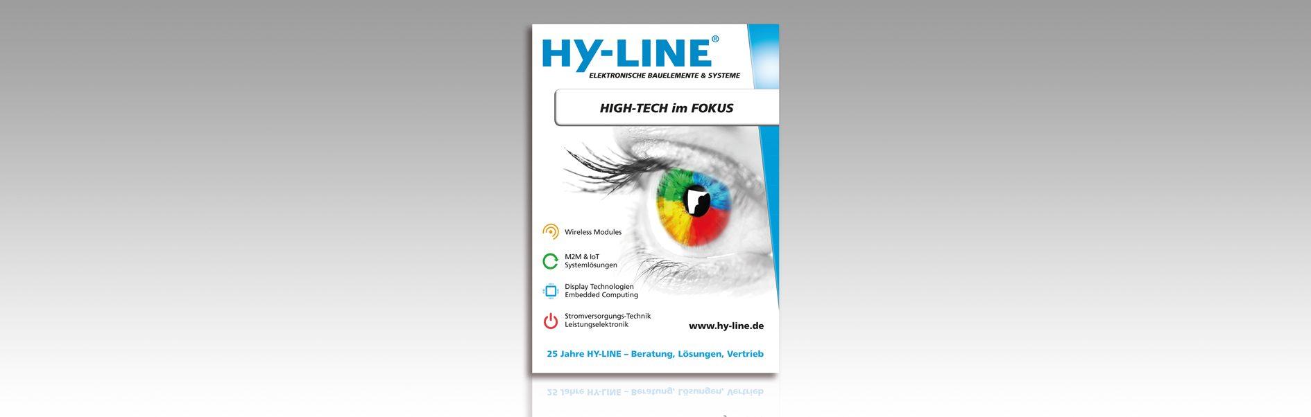 Hier ist die Group-Anzeige von HY-LINE abgebildet.