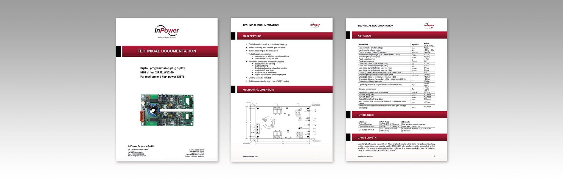 Hier ist ein Beispiel der Produktbilder von InPower abgebildet.