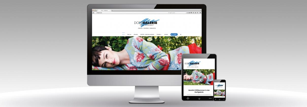 Neue Website Dorfgalerie