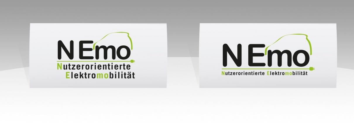 Hier sind die zwei Logovarianten von NEmo abgebildet.