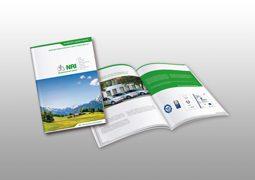 Hier ist die neue NRI Broschuere zu sehen.