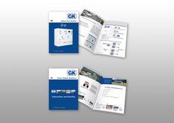 Hier ist der aktualisierten Gustav Klein Produktfolder und das Firmenprofil zu sehen