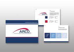 Hier ist das für Arco gefertigte CD-Manual zu sehen.