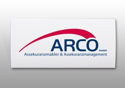 Hier ist das Arco Logo zu sehen.