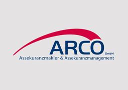 Hier ist das Logo von ARCO zu sehen