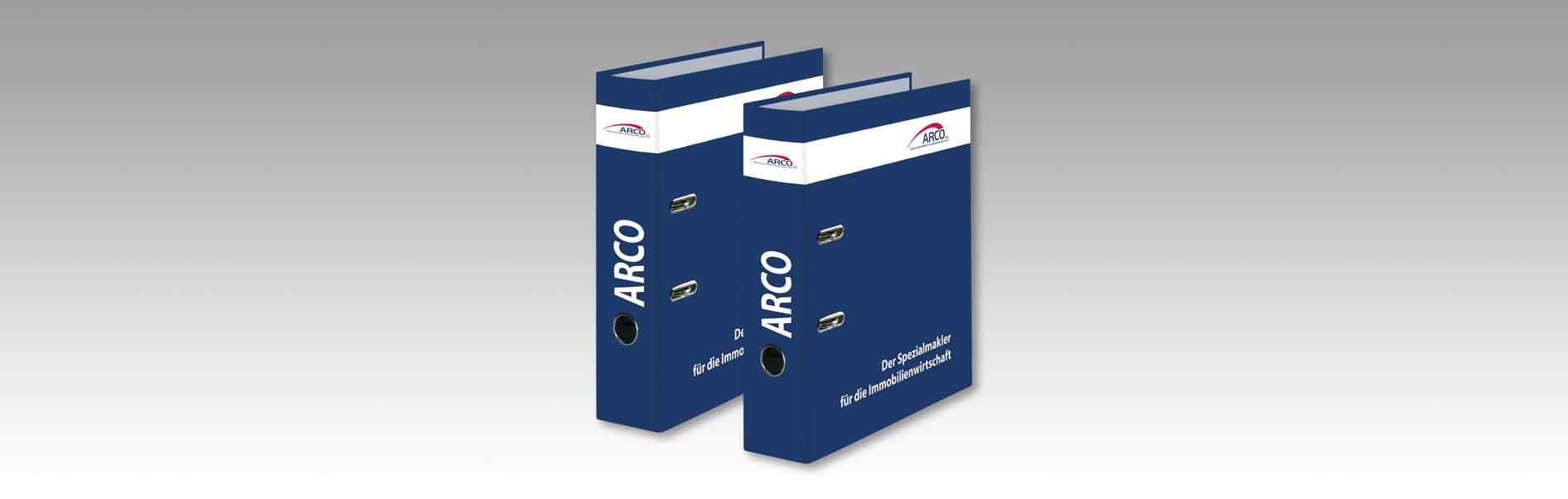 Hier sind die neuen Ordner von Arco zu sehen.
