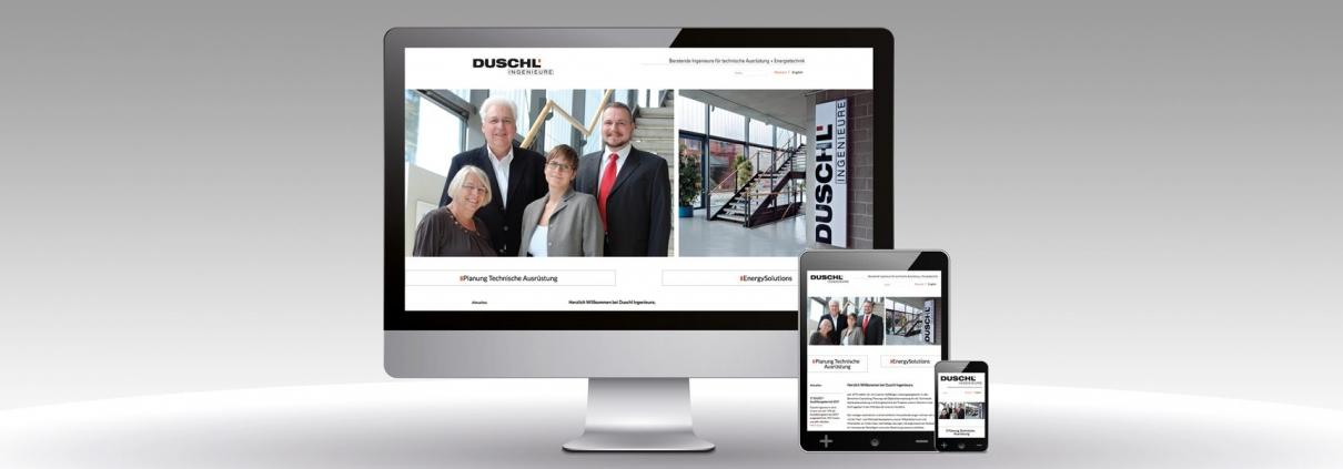 Duschl Wordpress Internetseite