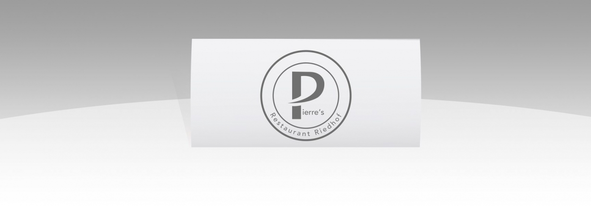 Hier ist das Logo von Pierres Restaurant Riedhof abgebildet