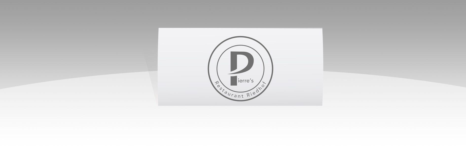 Logodesign Pierres Restaurant Riedhof