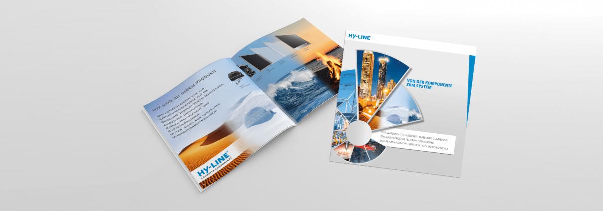 Print-Broschüre HY-LINE Group