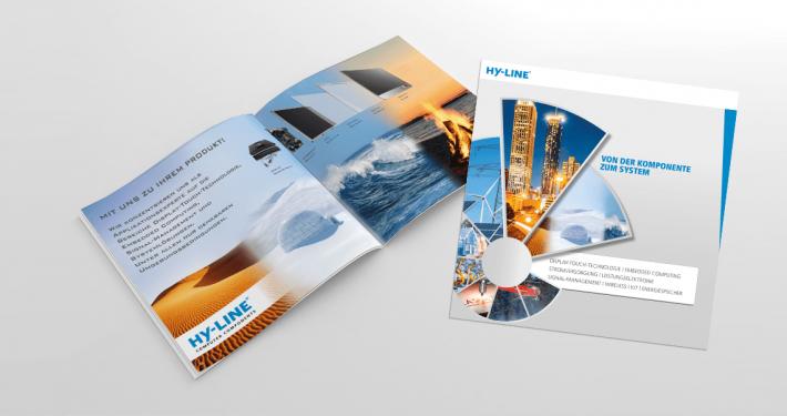 Hier ist die Broschüre der HY-LIEn Group abgebildet.