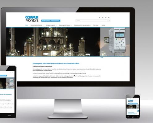 Mehrsprachige Wordpress Website Compur Monitors