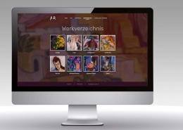 Webdesign Anta Rupflin Website