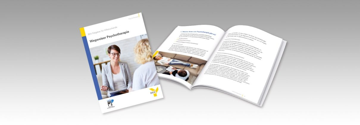 Broschüre Wegweiser Psychotherapie