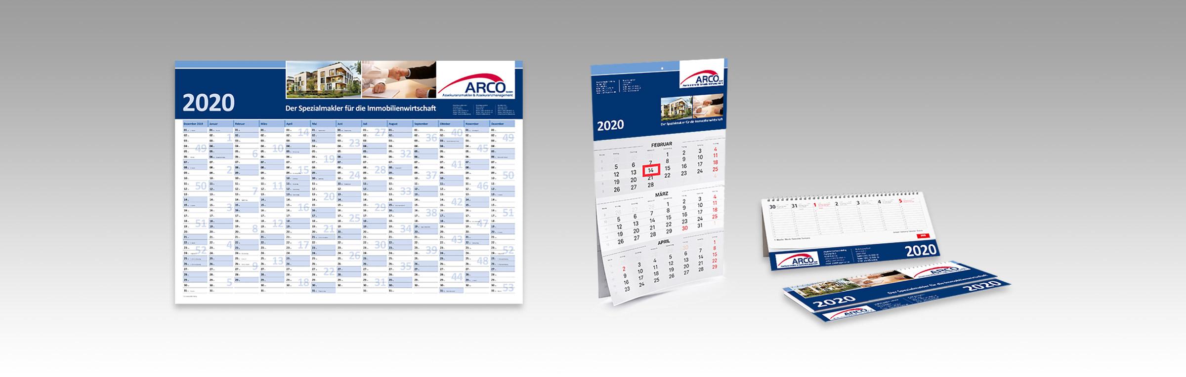Arco Kalender 2020