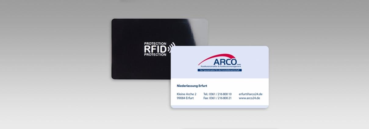 RFID Blocker-Schutzkarte