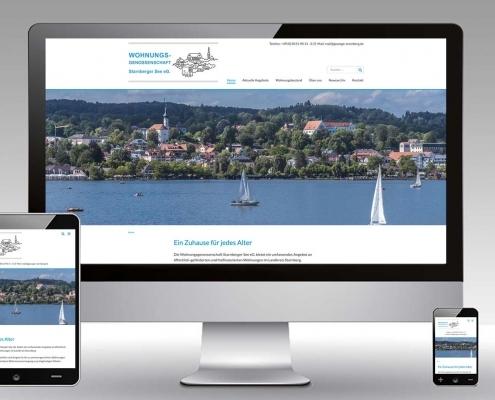 Wohnungsgenossenschaft Starnberger See Website