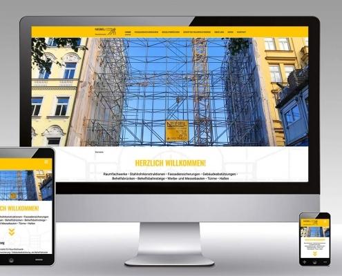 Website Nebel GmbH