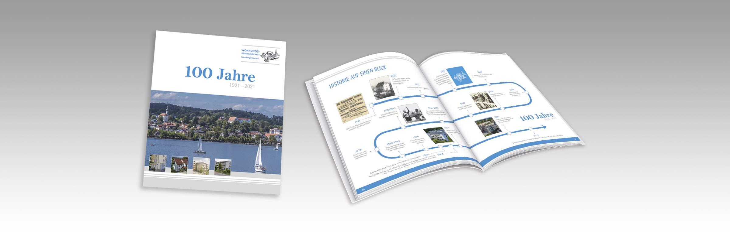 Festschrift Wohnungsgenossenschaft Starnberger See eG.